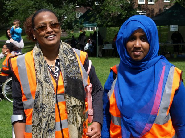 Two of our volunteers