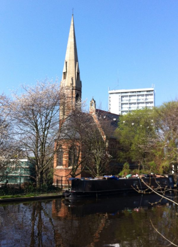 St Mary Magdalene Church view over canal