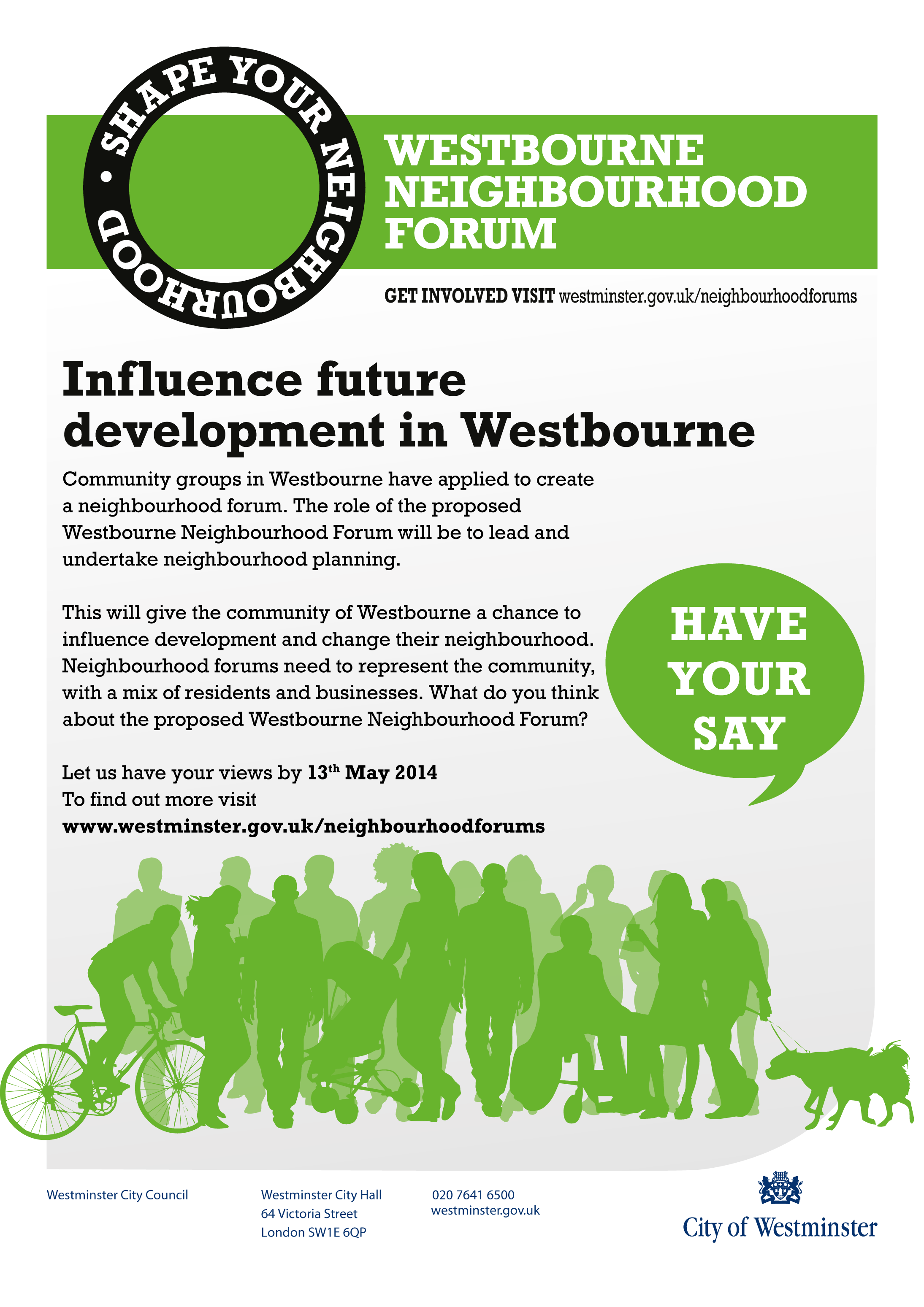 Westbourne Forum and Westminster Council consultation