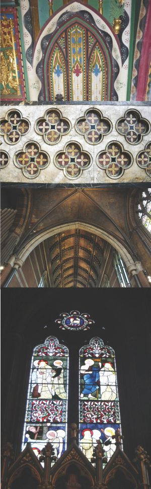 Architectural features composite picture