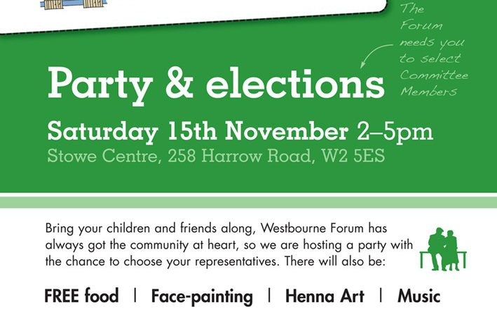 Westbourne Forum election poster