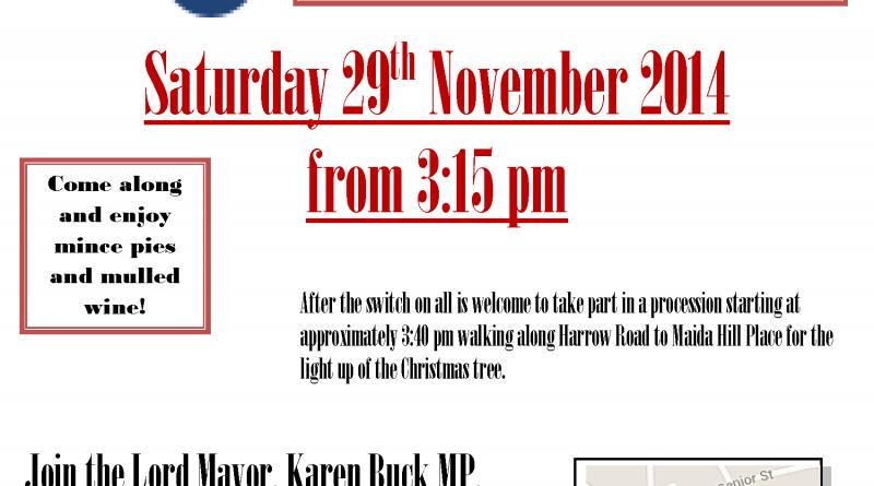 Westbourne Christmas Lights event - 29th Nov 2014