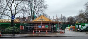 Westbourne Green Optimise / Thames Water work site - February 2014