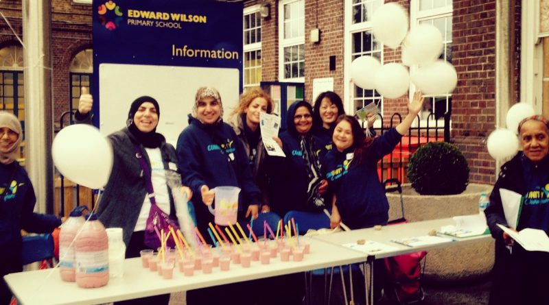Community Champions event in Edward Wilson Primary School
