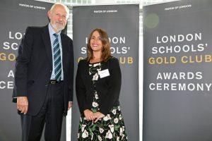 London Schools' Gold Club Awards - 25 Sep 15