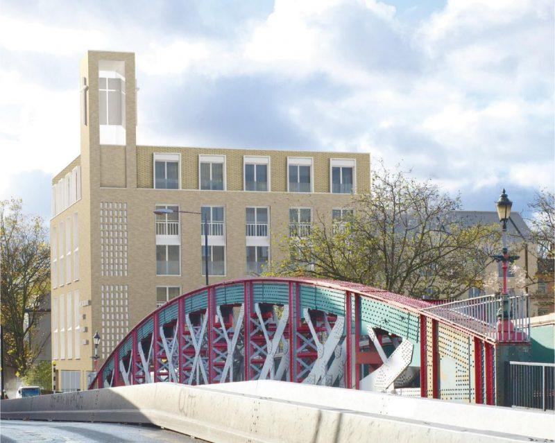 Westbourne Park Baptist Church - Architect's Visualisation