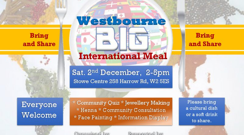 Westbourne Big International Meal - Bring and Share Leaflet