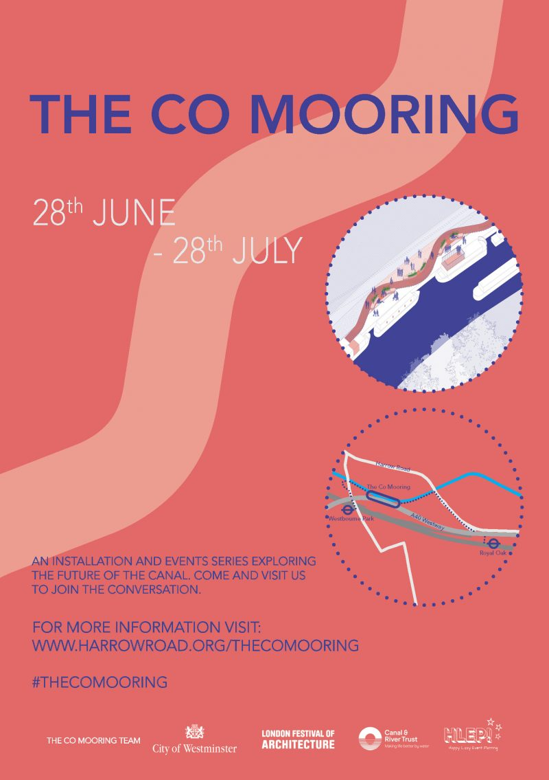 The Co Mooring events series flyer page 1