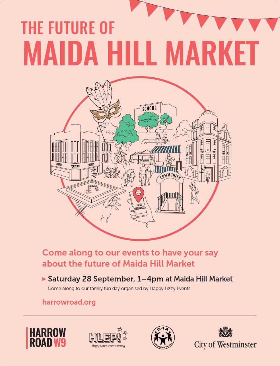 Maida Hill Event Flyer
