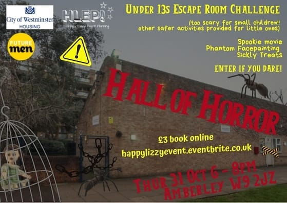 Hall of Horror: Under 13's Escape Room Challenge
