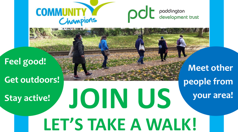 Join Us - let's take a walk!