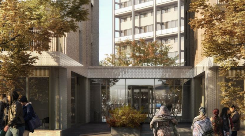 300 Harrow Road artist's impression