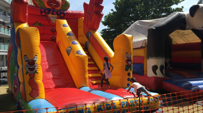 summer festival 2018 - bouncy slide