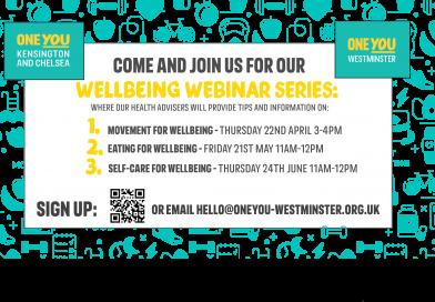 One You - Wellbeing Webinar Series