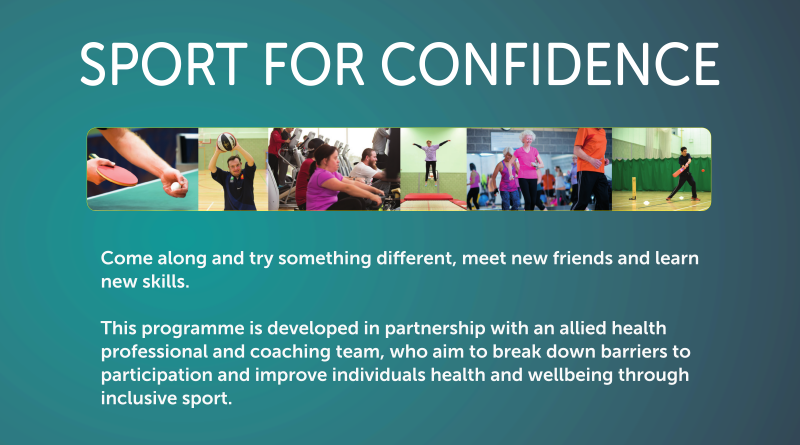 Come along and try something different, meet new friends and learn new skills. This programme is developed in partnership with an allied health professional and coaching team, who aim to break down barriers to participation and improve individuals health and wellbeing through inclusive sport.