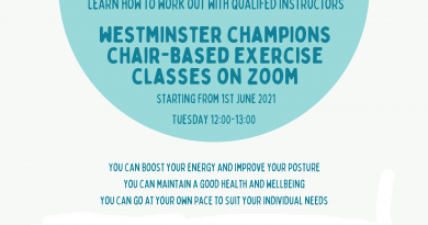 Westminster Champions Chair-Based Exercise