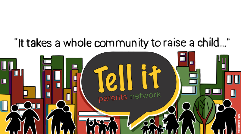 Tell It Parents Network logo