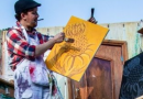 Outdoor performance and puppet making workshop for children under 5