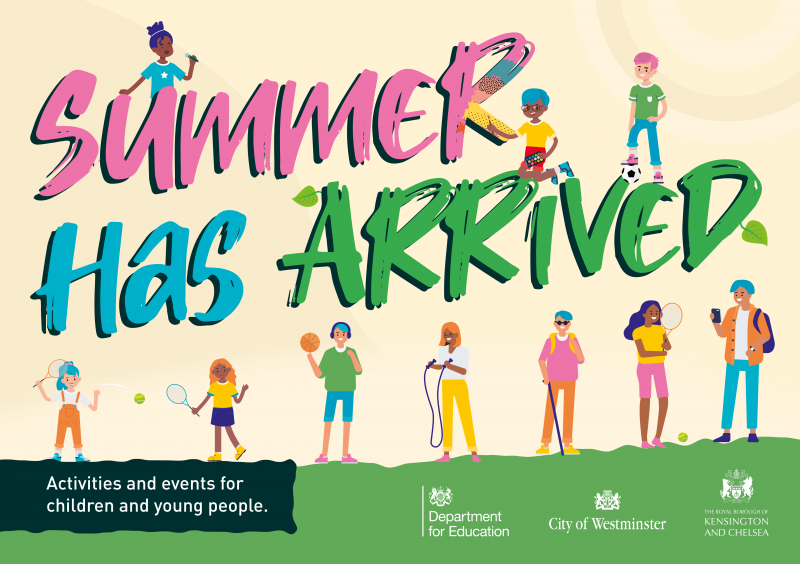 Summer Has Arrived - Activities and events for young people