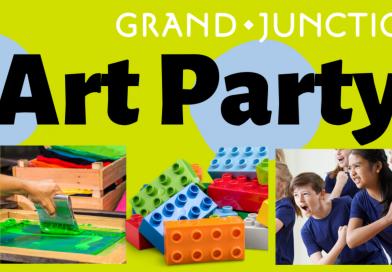 Art party header