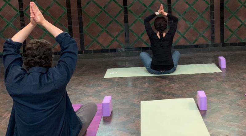Lunchtime Yoga header