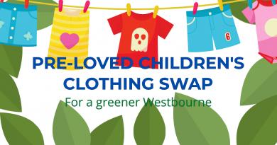 Pre-loved children's clothing swop